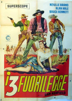 Outlaws poster Italy