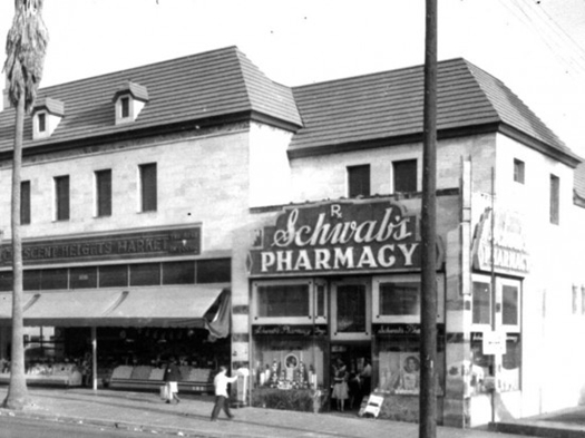 Schwab's was a place to see and be seen.