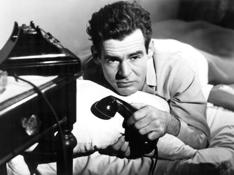 "Robert Ryan is a brutal cop in ""On Dangerous Ground."""