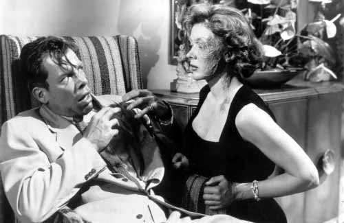 Lee Marvin and Gloria Grahame create one of the most iconic scenes in all of film noir.