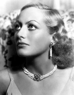 Another Joan Crawford portrait shot by George Hurrell.