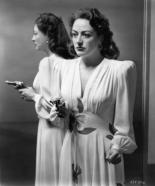 "Crawford won an Oscar for ""Mildred Pierce."""