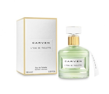 Looking for a fresh floral fragrance that's also polished and sophisticated? Try Carven L'Eau de Toilette. This new and lighter version of Carven Le Parfum recently launched at Saks.