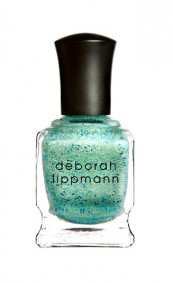 If you fancy a sparkly seafoam situation, Mermaid's Dreams by Deborah Lippmann should do nicely. One snag: Glitter polish takes a long time to remove. A non-sparkle alternative is DL's pretty pale green called Spring Buds, part of the Spring Reveries Collection 2014. (Limited edition)