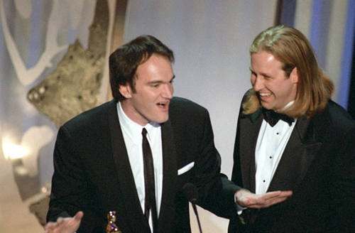 "Quentin Tarantino and Roger Avary won the Oscar for writing ""Pulp Fiction"" (1994). It earned six other noms."