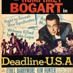 Deadline USA poster