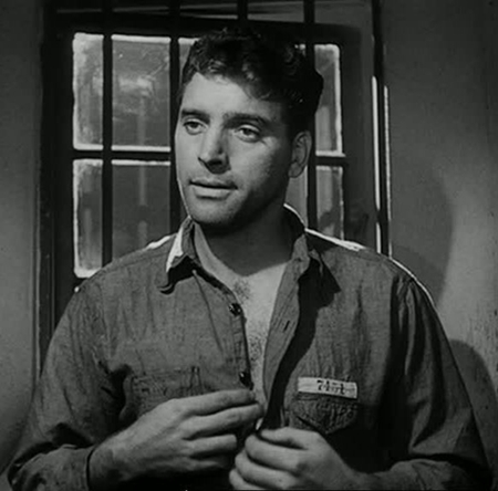 "The divine Burt Lancaster in ""Brute Force."""