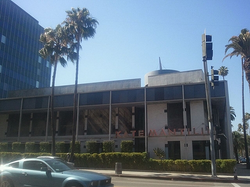 Kate's, at the corner of Wilshire and Doheny, opened in 1987.