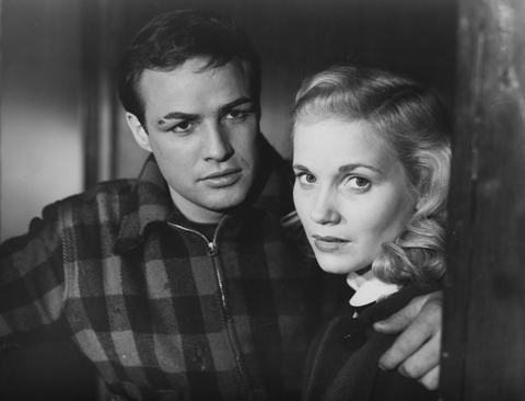 Marlon Brando and Eva Marie Saint both won Oscars for their work.