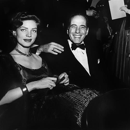 Love this photo of a (smiling!) Bogart & Bacall. Shot by Murray Garrett and on display at the Robert Berman Gallery in Santa Monica.