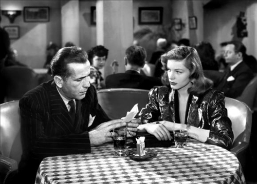 """The Big Sleep"" was the second film in which director Howard Hawks paired Bogart and Bacall. The first was ""To Have and Have Not"" (1944)."