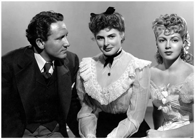 "Spencer Tracy, Ingrid Bergman and Lana Turner star in ""Dr. Jekyll and Mr. Hyde"" from 1941."