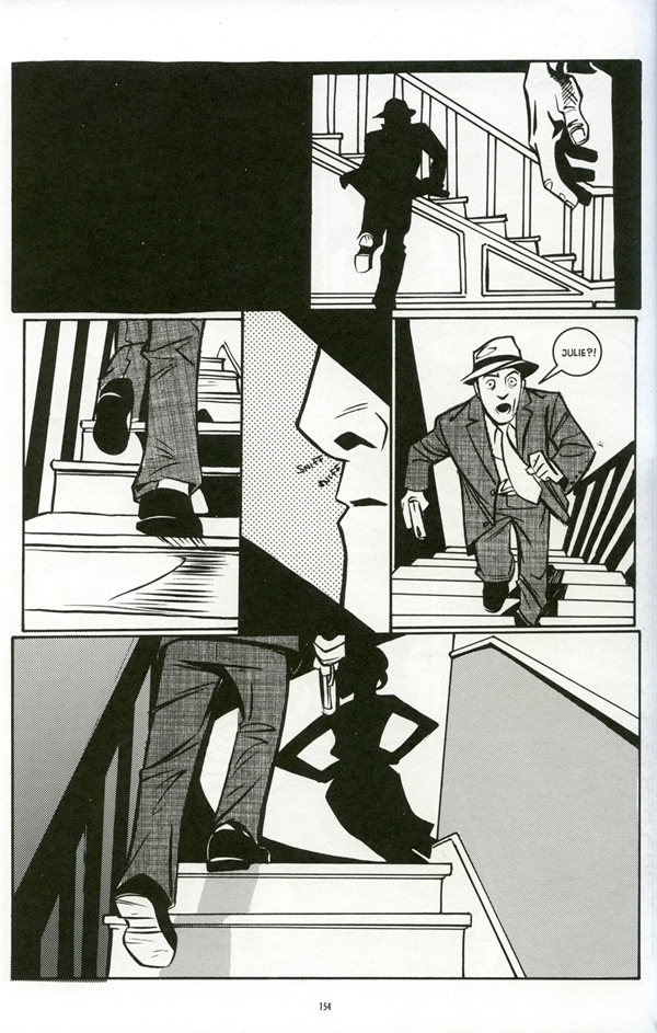 Page from You Have Killed Me. Illustrations by Joëlle Jones and story by Jamie S. Rich, 2009.