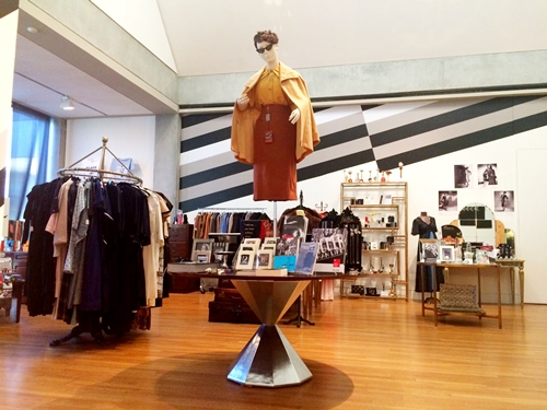 The film noir visual style is referenced in the Holiday Pop-Up Shop.