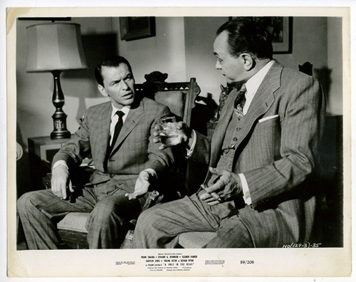 "Frank Sinatra and Edward G. Robinson star in 1959's ""A Hole in the Head,"" directed by Frank Capra."