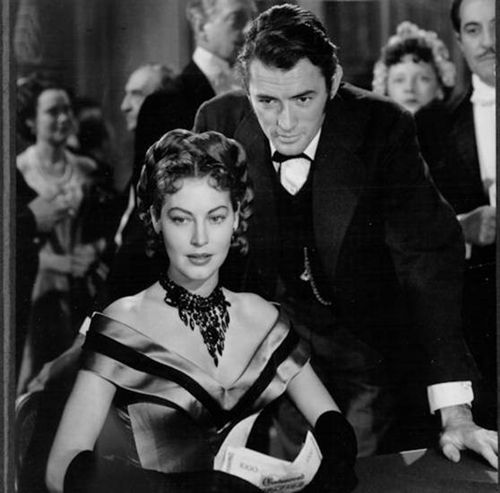 """Gregory Peck and Ava Gardner star in 1949's """"The Great Sinner,"""" directed by Robert Siodmak."""