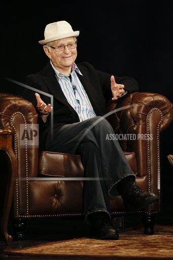 Norman Lear kept the audience laughing on Wednesday night.