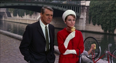 Cary Grant (shown with Audrey Hepburn) is one of FNB's favorite actors.