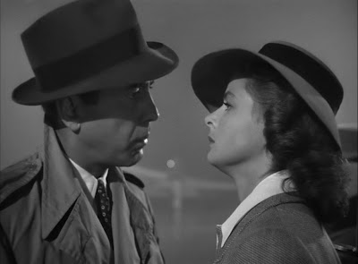 Bogart and Bergman play Rick and Ilsa, who are perhaps Hollywood's most famous on-screen lovers.