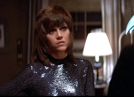 "Jane Fonda won the Best Actress Oscar for her role in ""Klute."""