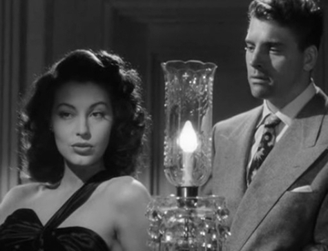 "Burt Lancaster instantly falls for Ava Gardner in ""The Killers."""