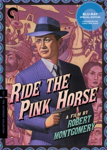 Ride the Pink Horse poster