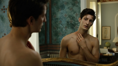 "Pierre Niney plays the wily writer in  ""A Perfect Man."""