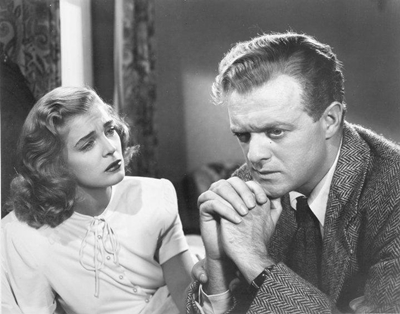 "Lizabeth Scott and Van Heflin co-star in ""Martha Ivers."""